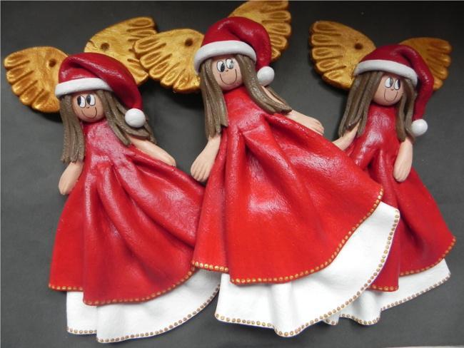 Ангелы из соленого теста. Мастер-класс
