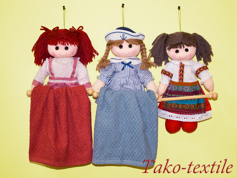 Кукла с полотенцем своими руками