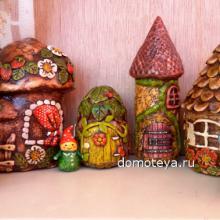 Сказочные домики для детей - Фото
